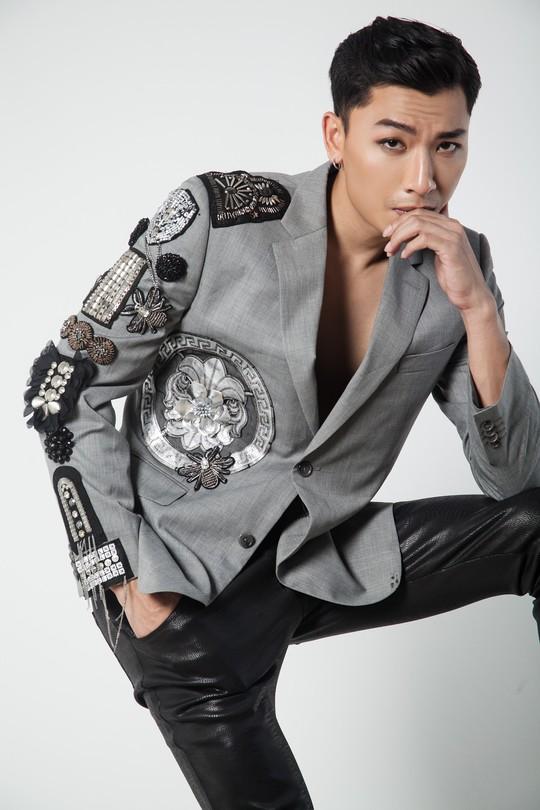Siêu mẫu Trần Trung cực ngầu trong loạt ảnh thời trang mới - Ảnh 5.