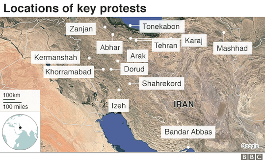 Iran: Cố trộm súng cảnh sát, 6 người biểu tình thiệt mạng - Ảnh 6.