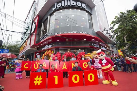 Jollibee Việt Nam mở cửa hàng thứ 100 tại Việt Nam - Ảnh 1.