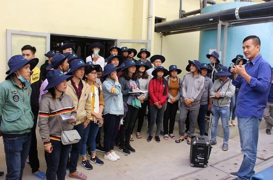 Sinh viên Đại học Tây Đô học thực tế tại Đa Phước - Ảnh 3.
