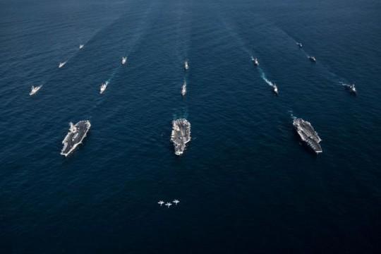 Mỹ đổi chiến lược quốc phòng, ưu tiên đối phó Nga-Trung - Ảnh 1.