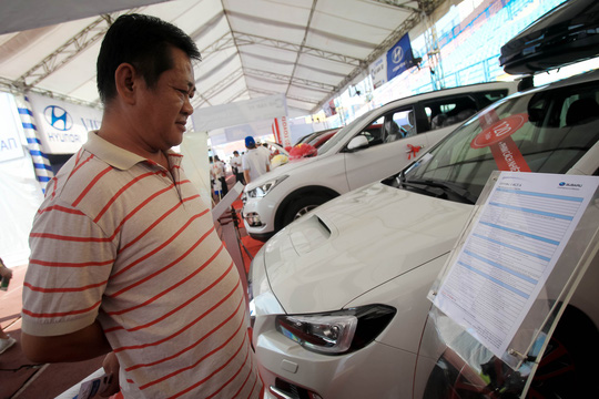 Một năm ảm đạm của thị trường ô tô Việt - Ảnh 1.
