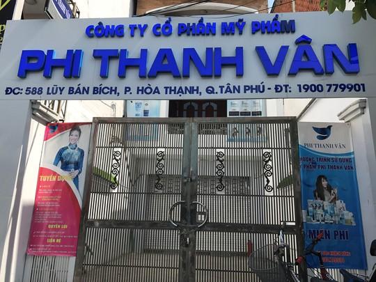 Sai phạm sản xuất mỹ phẩm, Công ty Phi Thanh Vân bị phạt hàng trăm triệu đồng - Ảnh 1.
