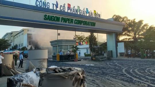 Cháy lớn tại Nhà máy giấy Sài Gòn ở Bà Rịa - Vũng Tàu - Ảnh 4.
