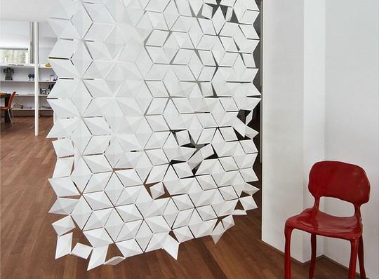 10 thiết kế vách ngăn chia phòng độc đáo cho nhà nhỏ - Ảnh 1.