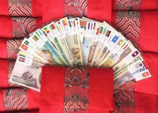 Lì xì tết 2018: Cơn sốt bộ tiền đa quốc gia 28 nước - Ảnh 1.