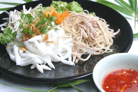 Bánh tằm Ngan Dừa - đặc sản danh tiếng ẩm thực Bạc Liêu - Ảnh 1.