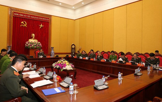 Bộ trưởng Tô Lâm chủ trì họp Đảng ủy Công an Trung ương - Ảnh 2.