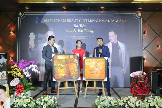 Đoàn Thanh Tài - Quý Bình bán tranh gây quỹ từ thiện - Ảnh 1.