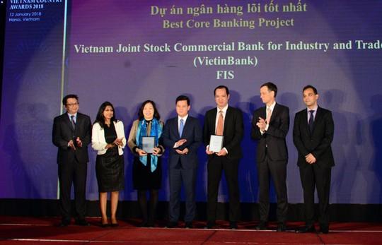 The Asian Banker trao 3 giải thưởng cho VietinBank - Ảnh 1.