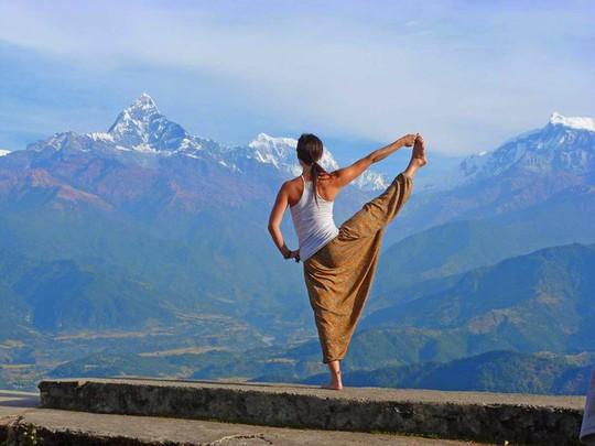 Đến Sarangkot ngắm bình minh trên dãy Himalaya - Ảnh 3.