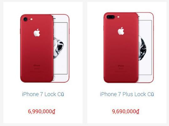 Gần Tết, giá iPhone 7/7 Plus cũ lao dốc vì ế ẩm - Ảnh 1.