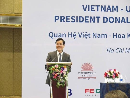 Việt Nam hết sức quan tâm thúc đẩy quan hệ với Hoa Kỳ - Ảnh 2.