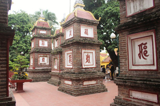 Cận cảnh ngôi chùa đẹp bậc nhất thế giới ở Hà Nội - Ảnh 1.