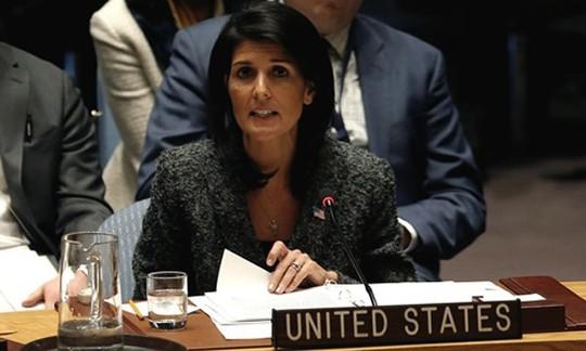 Mỹ, Nga đọ quyền lực nảy lửa trên bàn họp LHQ - Ảnh 1.