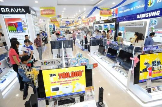 Bán lẻ điện máy sắp bị bóp nát bởi các đại gia Trung Quốc - Ảnh 1.
