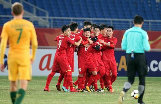 Sao Việt vỡ òa cùng chiến thắng của U23 Việt Nam - Ảnh 1.
