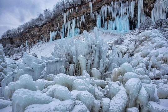 Giật mình trước chùm ảnh về mùa đông lạnh giá ở Bắc Mỹ - Ảnh 11.