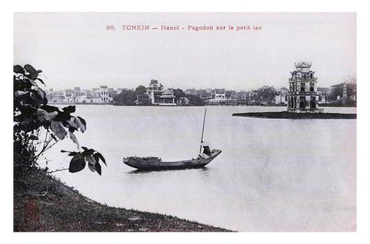 Thú vị diện mạo Hồ Gươm hơn 1 thế kỷ trước - Ảnh 11.