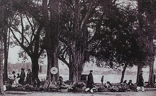 Thú vị diện mạo Hồ Gươm hơn 1 thế kỷ trước - Ảnh 12.