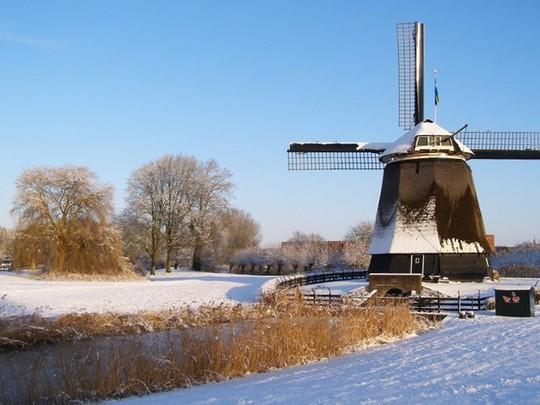 Đẹp nao lòng mùa đông ở Hà Lan - Ảnh 13.