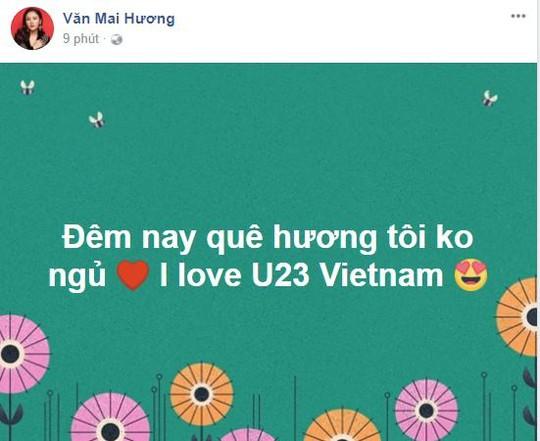 Sao Việt vỡ òa cùng chiến thắng của U23 Việt Nam - Ảnh 16.