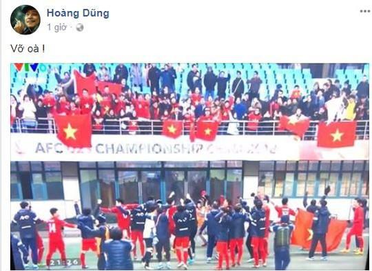 Sao Việt vỡ òa cùng chiến thắng của U23 Việt Nam - Ảnh 20.