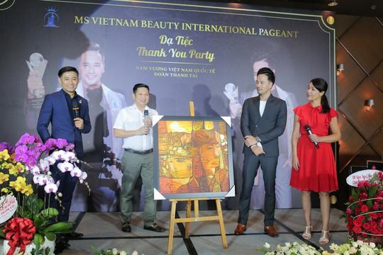 Đoàn Thanh Tài - Quý Bình bán tranh gây quỹ từ thiện - Ảnh 3.