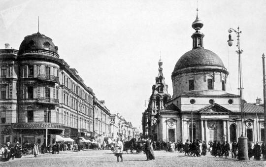 """Chùm ảnh so sánh thủ đô Moscow """"100 năm: ngày ấy - bây giờ"""" - Ảnh 3."""