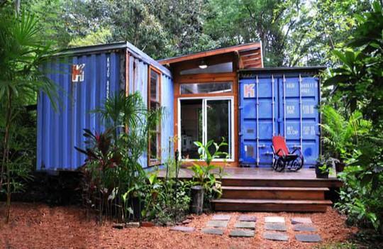 """10 ngôi nhà đẹp """"lạ"""" làm bằng vật liệu tái chế - Ảnh 3."""
