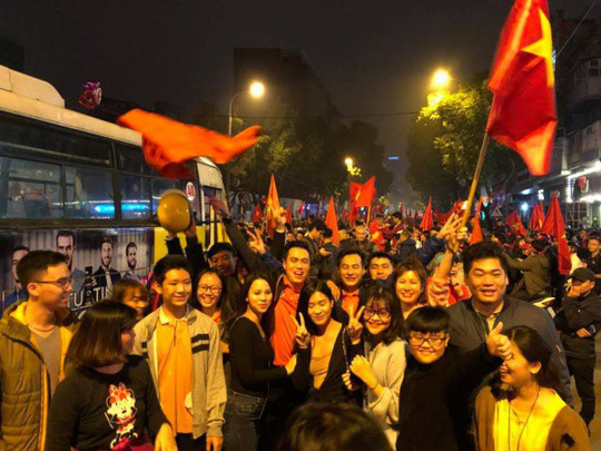 Sao Việt vỡ òa cùng chiến thắng của U23 Việt Nam - Ảnh 28.