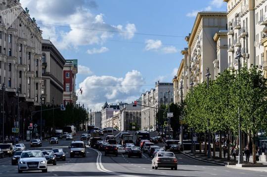 """Chùm ảnh so sánh thủ đô Moscow """"100 năm: ngày ấy - bây giờ"""" - Ảnh 4."""