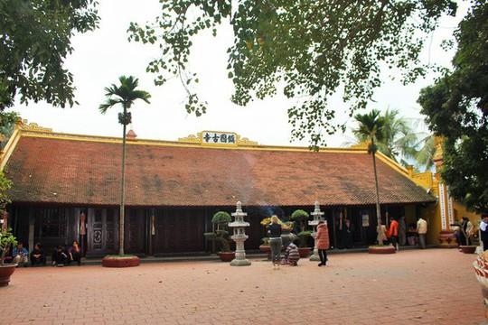Cận cảnh ngôi chùa đẹp bậc nhất thế giới ở Hà Nội - Ảnh 4.