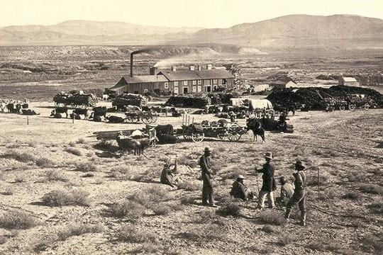Bất ngờ về cảnh tượng miền Tây nước Mỹ 150 năm về trước - Ảnh 4.