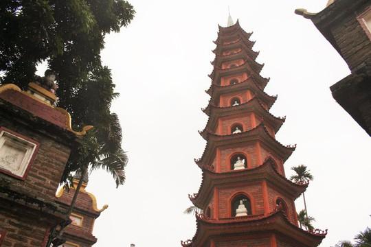 Cận cảnh ngôi chùa đẹp bậc nhất thế giới ở Hà Nội - Ảnh 5.