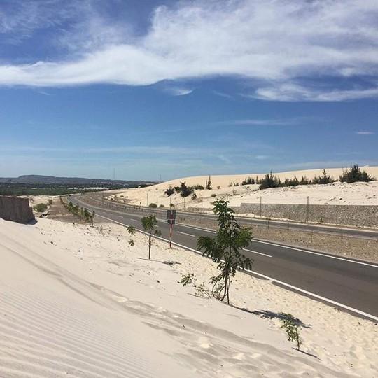 """Check in """"ốc đảo xanh giữa lòng sa mạc"""" đang gây sốt ở Bình Thuận - Ảnh 5."""