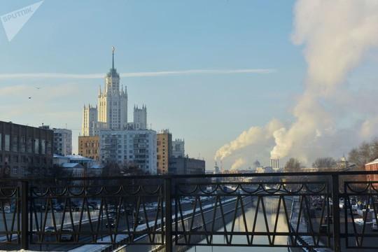 """Chùm ảnh so sánh thủ đô Moscow """"100 năm: ngày ấy - bây giờ"""" - Ảnh 6."""