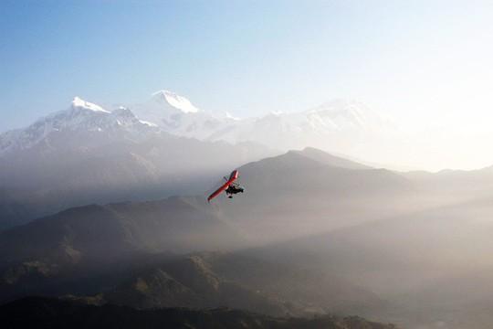 Đến Sarangkot ngắm bình minh trên dãy Himalaya - Ảnh 8.