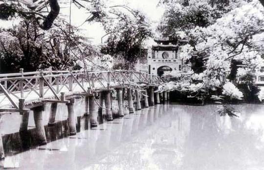 Thú vị diện mạo Hồ Gươm hơn 1 thế kỷ trước - Ảnh 8.