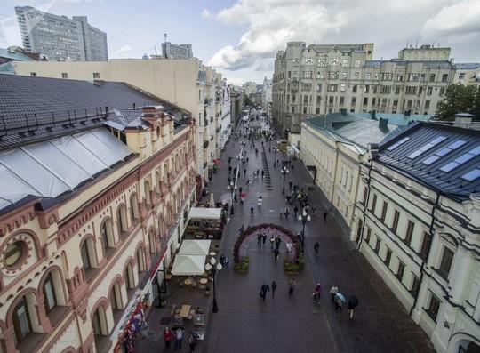 """Chùm ảnh so sánh thủ đô Moscow """"100 năm: ngày ấy - bây giờ"""" - Ảnh 8."""