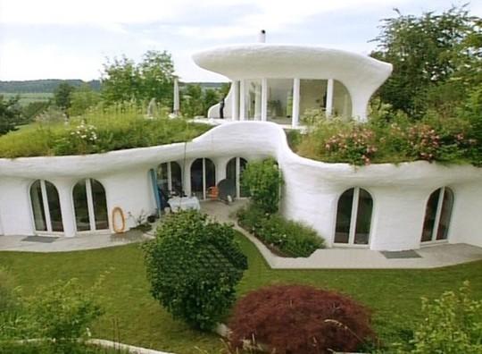 """10 ngôi nhà đẹp """"lạ"""" làm bằng vật liệu tái chế - Ảnh 8."""
