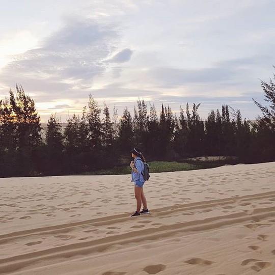 """Check in """"ốc đảo xanh giữa lòng sa mạc"""" đang gây sốt ở Bình Thuận - Ảnh 8."""