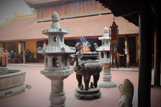 Cận cảnh ngôi chùa đẹp bậc nhất thế giới ở Hà Nội - Ảnh 9.