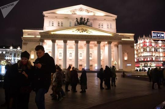 """Chùm ảnh so sánh thủ đô Moscow """"100 năm: ngày ấy - bây giờ"""" - Ảnh 10."""