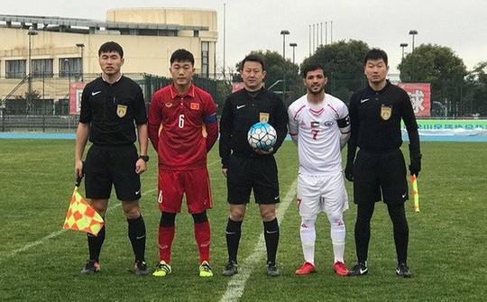U23 Việt Nam hòa Palestine vì chủ quan khi thay người - Ảnh 1.