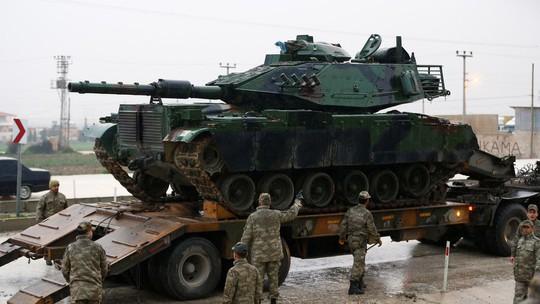Bộ binh Thổ Nhĩ Kỳ tiến vào Syria, 22 người thương vong - Ảnh 2.