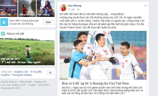 Cơn sốt U23 Việt Nam vẫn nóng trên mạng xã hội - Ảnh 6.