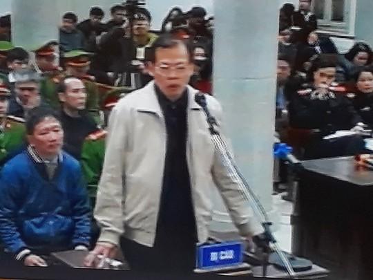 """Ông Đinh La Thăng: """"Bị cáo chưa lần nào từ chối trách nhiệm"""""""