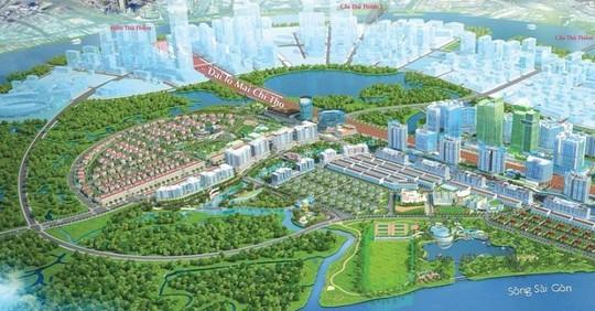 TP HCM: Duyệt nhiệm vụ thiết kế dự án tại Khu đô thị mới Thủ Thiêm - Ảnh 1.