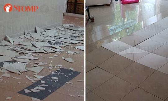 Singapore: Gạch lát sàn chung cư chính phủ đồng loạt nứt vỡ - Ảnh 1.